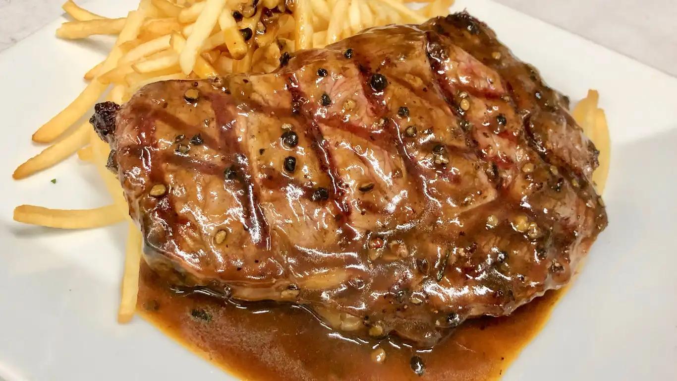 Grilled Entrecote ( Rib eye steak )